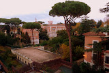 The Neighborhood Surrounding Our Hotel From The Rooftop Terrace - Rome, Italy