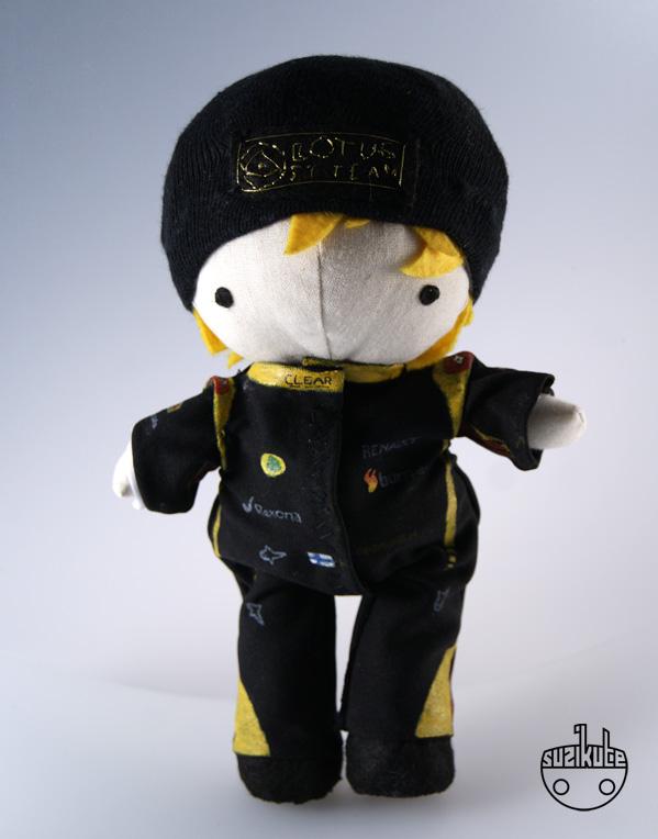 кукла Кими Райкконена от SuziKute