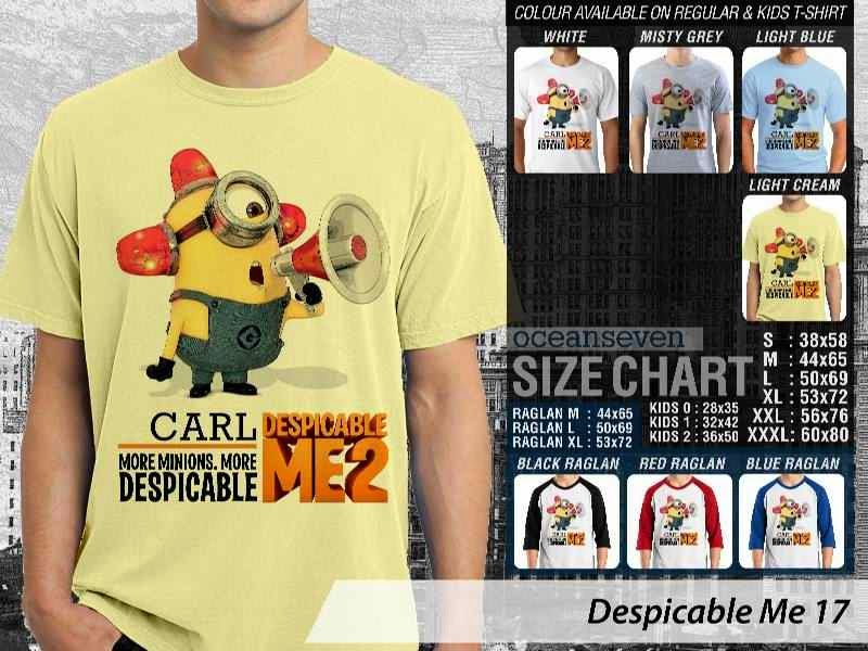 KAOS Despicable me 17 Movie Animation distro ocean seven