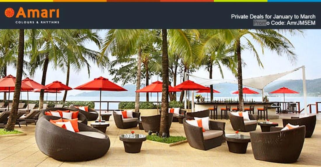 Amari - 曼谷/蘇梅島/布吉/華欣 酒店,低至8折,3月前入住。