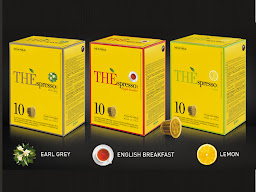 10 Capsule Vergnano ThÈspresso1882 English breakfast