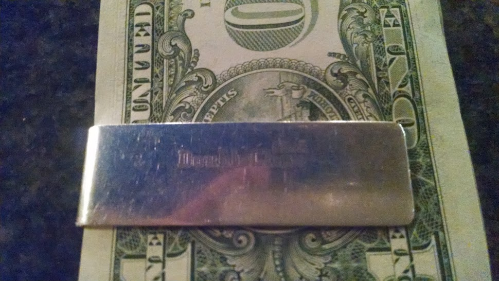 Tiffany Money Clip!