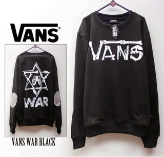 Jaket Vans War Black