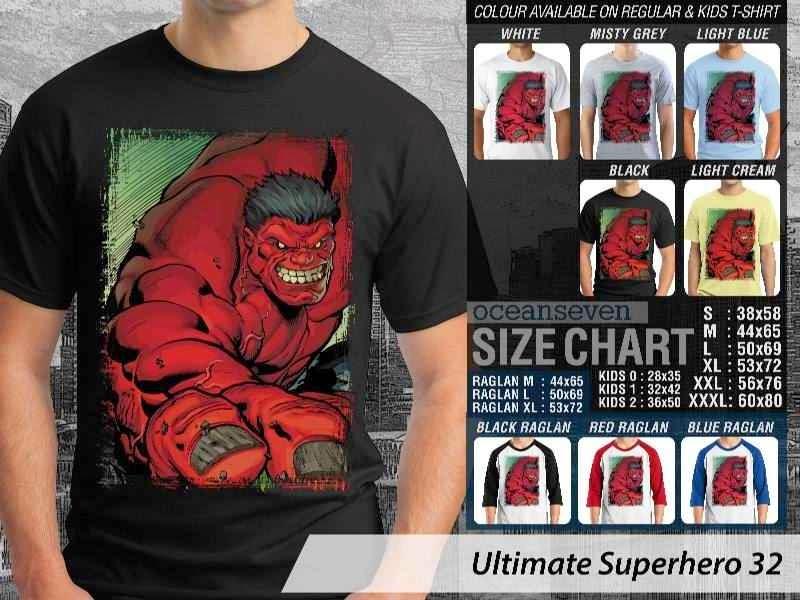KAOS hulk 32 Ultimate Superhero distro ocean seven
