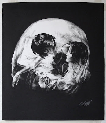Hauntingly Deceptive Skull Portraits by Tom French Seen On www.coolpicturegallery.us