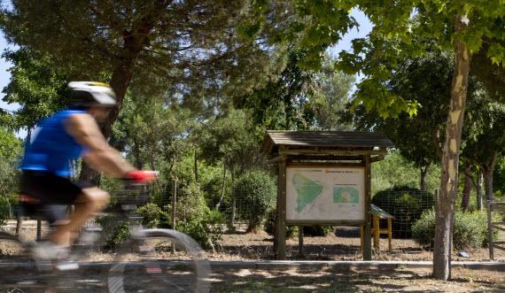 Nueva senda botánica del Parque Forestal Polvoranca