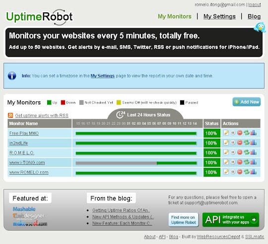 Uptime Robot