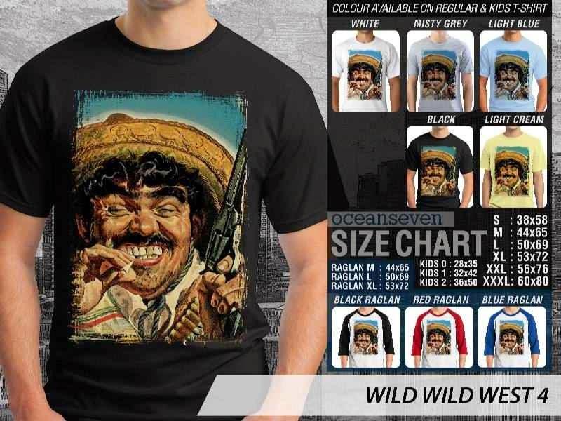 Kaos Cowboy Americana 4 Wild West distro ocean seven