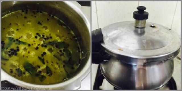 Millet Pongal Recipe (Varagu Pongal / Kodo Millet Kara Pongal) 5