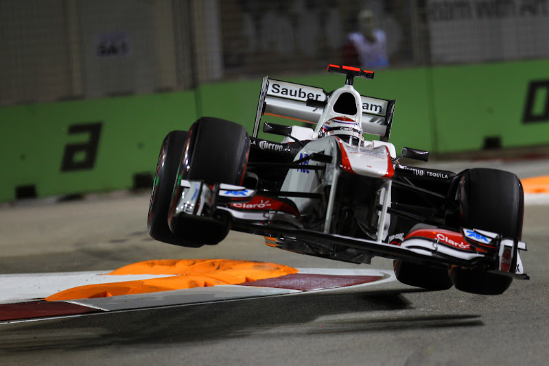 Камуи Кобаяши Sauber Сингапур Гран-при Сингапура 2011