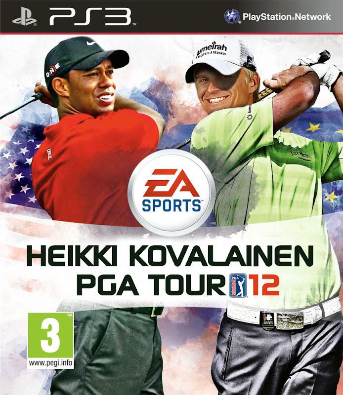 именная видеоигра Хейкки Ковалайнена PGA Tour 12