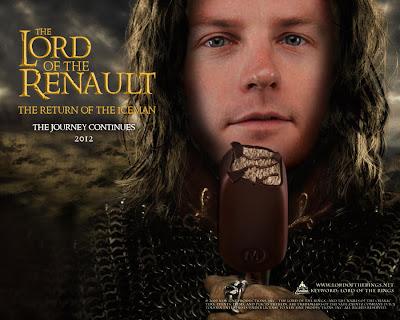 фотошоп Кими Райкконен с мороженкой - The Lord of the Renault by joora