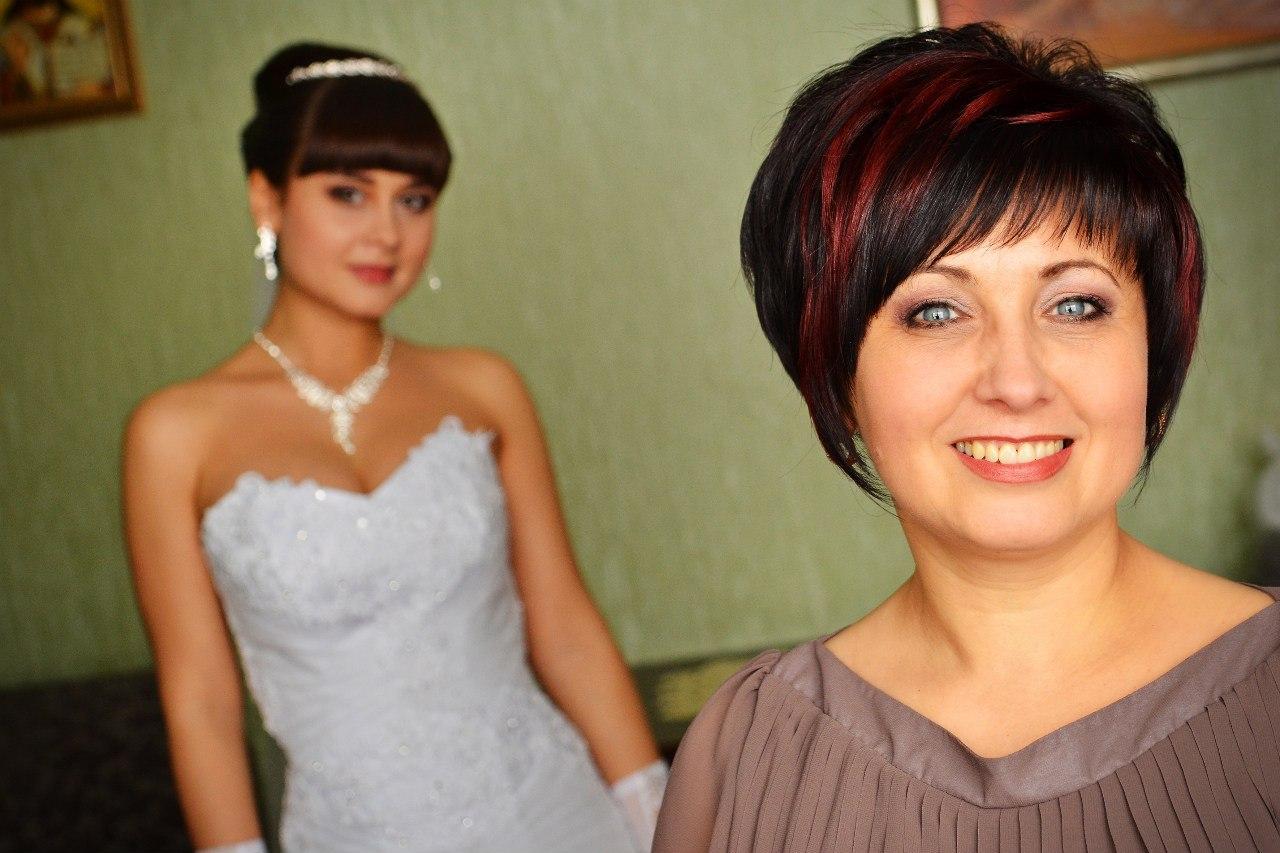 Прически для свадьбы мамы