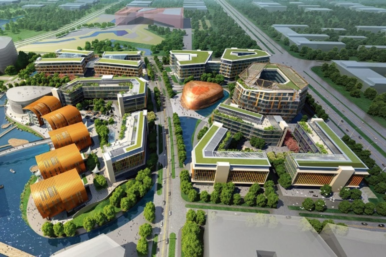 Lishui Zijing Technology Enterprise Park by Bdp