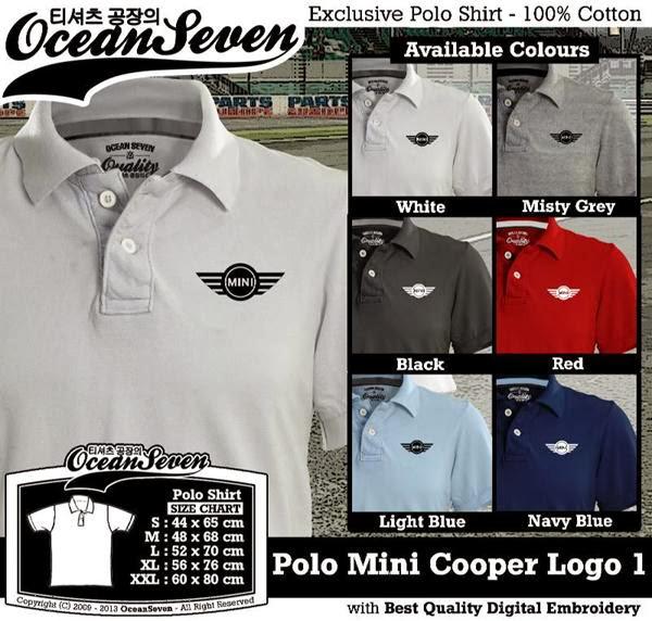POLO Mini Cooper Logo distro ocean seven