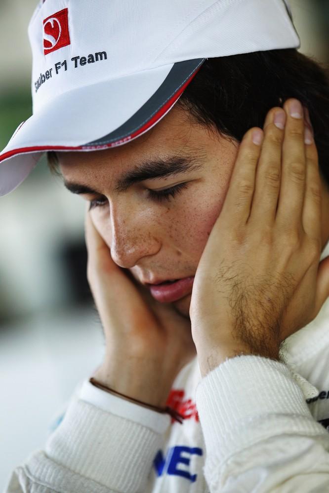 Серхио Перес на свободных заездах в пятницу на Гран-при Канады 2011