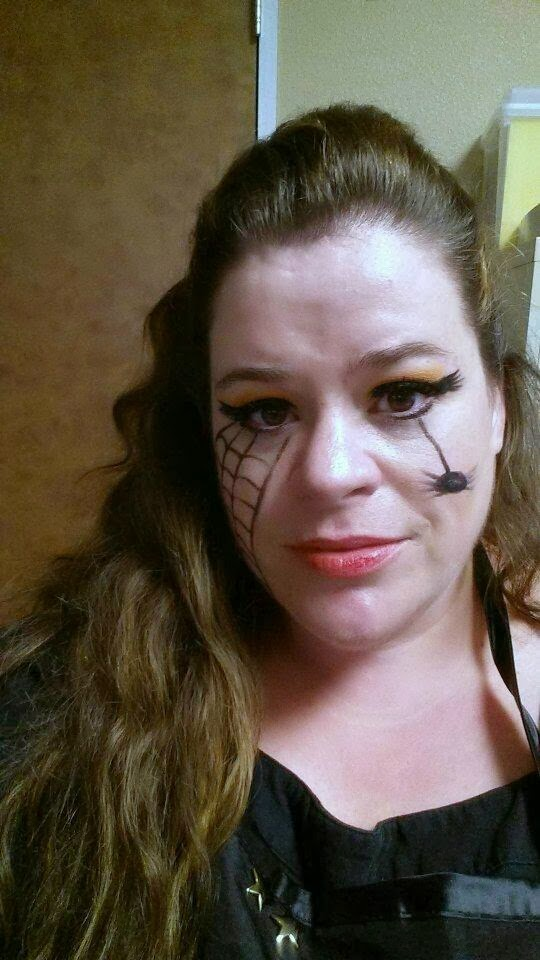 Halloween look and more....