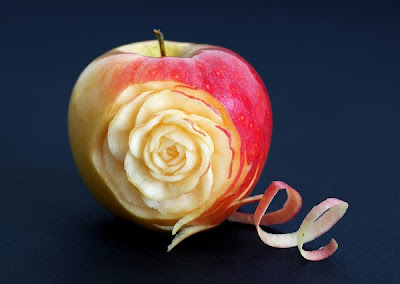Beautiful Food Carvings by Ilian Iliev Seen On www.coolpicturegallery.us