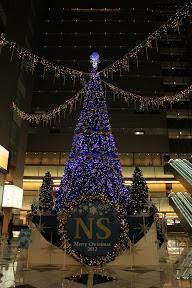新宿NSビルのクリスマスイルミネーション