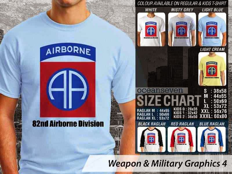 KAOS Militer Airbone Weapon & Military Graphics 4 distro ocean seven