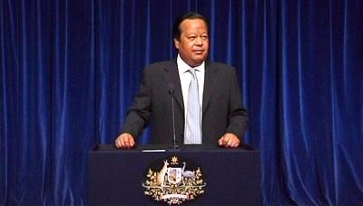Prem Rawat Maharaji en Parliament of Australia