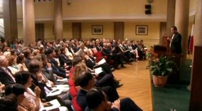 Prem Rawat Maharaji at Parliament of Italy