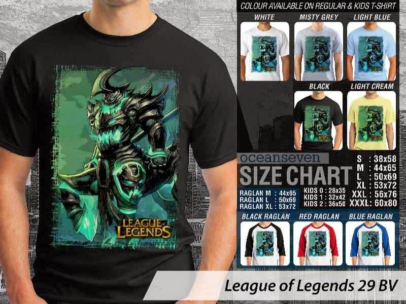 Kaos Game Online League of Legends 29 distro ocean seven