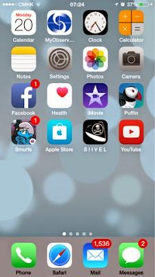 bookmark icon, index.html, iOS, Siivel, siivel.com, website, iPhone, iPad