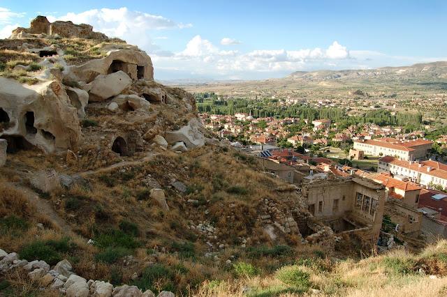 Турция: Каппадокия, вид сверху