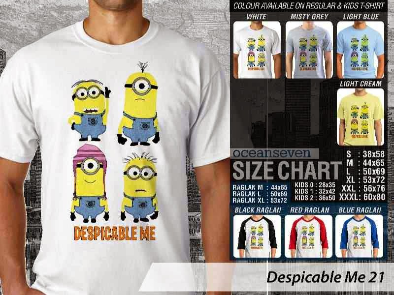 KAOS Despicable me 21 Movie Animation distro ocean seven