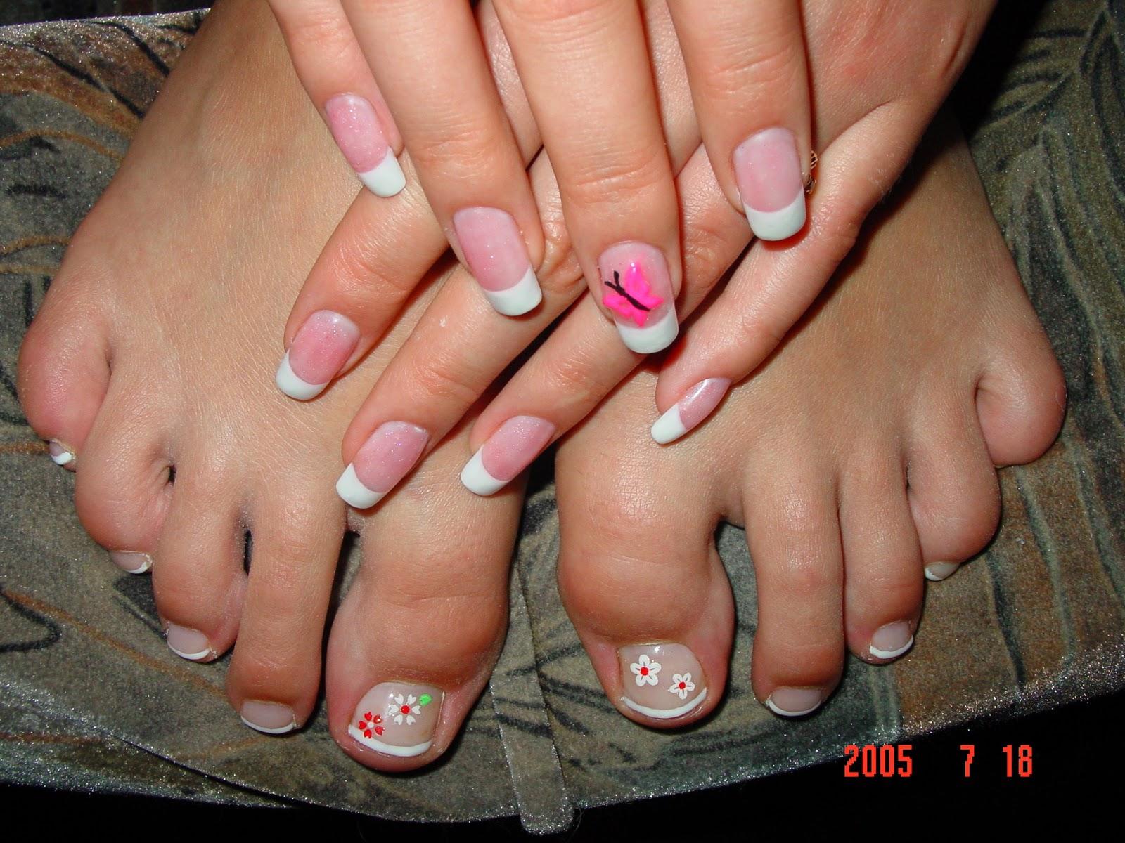 Дизайн ногтей на ногах для начинающих фото