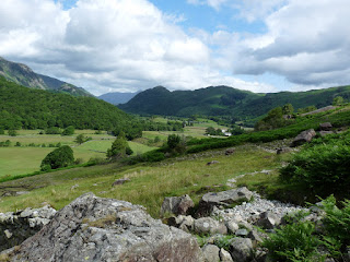 Looking back to Borrowdale