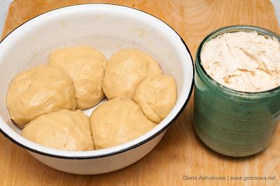 песочное тесто и маслянный крем