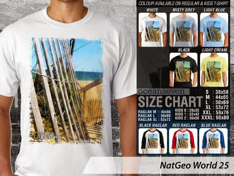 Kaos National Geographic NatGeo World 25 distro ocean seven