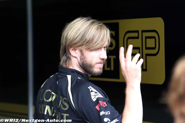 Ник Хайдфельд прощается на Гран-при Бельгии 2011