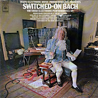 La portada alternativa de Switched-On Bach de Walter Carlos