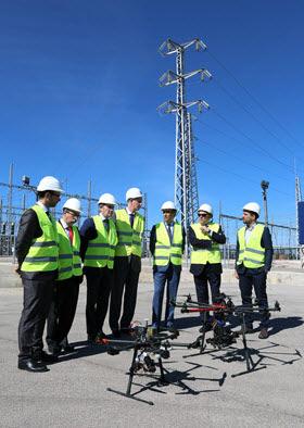 Unión Fenosa utiliza drones en las inspecciones de instalaciones eléctricas