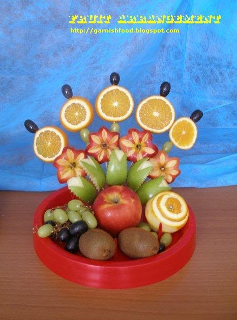 Fruit Carving Arrangements and Food Garnishes: Simple ...