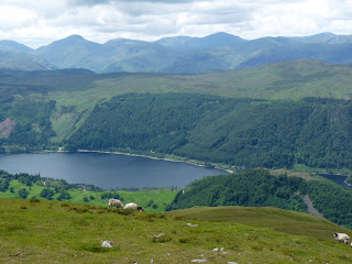 Thirlmere and the Cenral Fells.