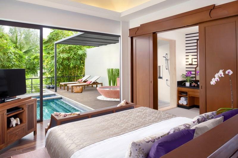 Anantara Phuket Layan Resort-deluxe pool villa