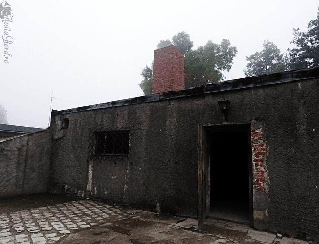 gas chamber auschwitz I