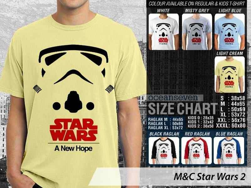 Kaos Movie Star Wars 2 Film Cinema distro ocean seven