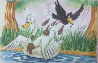 El cisne y el cuervo