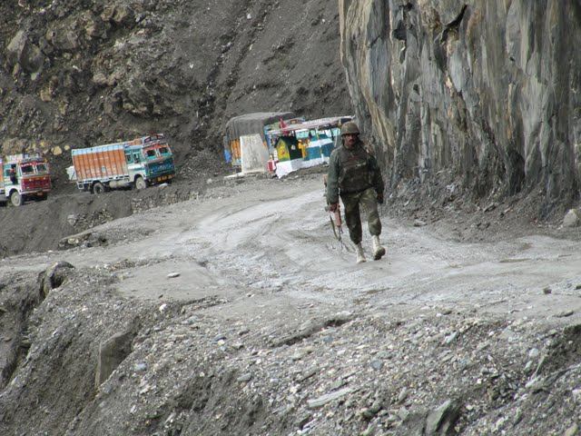 The way from Leh back to Srinagar