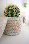 DIY rope pot