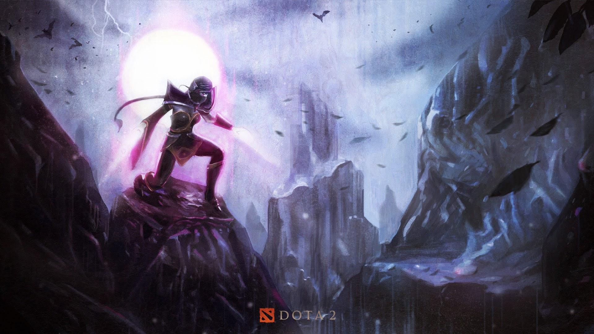 Loạt hình nền tuyệt đẹp của DotA 2 Trung Quốc - Ảnh 7