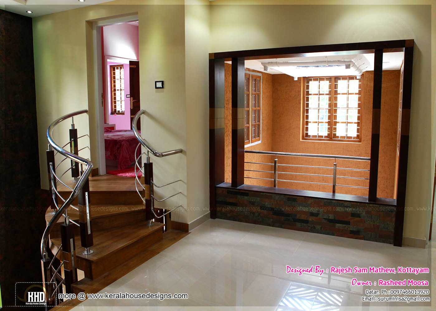 Modern home designs kerala interior design with photos for House designs interior