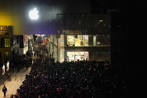 iphone 4s Sanlitun beijing apple store