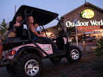 and where else do you take your Bad Boy than the Bass Pro Shop?