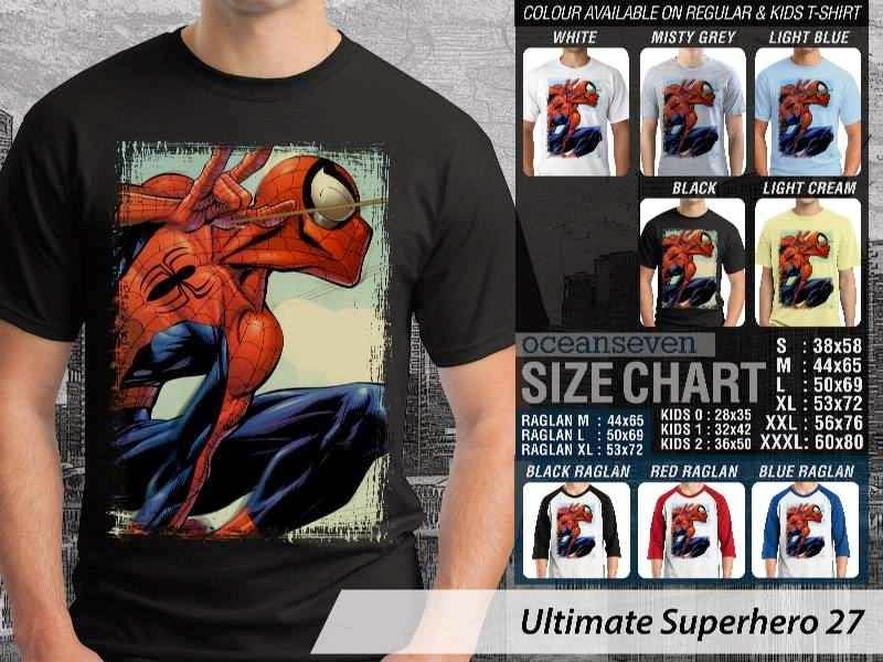 KAOS spiderman 27 Ultimate Superhero distro ocean seven
